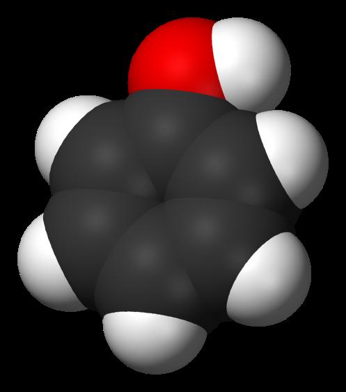 phenol-3d-vdw